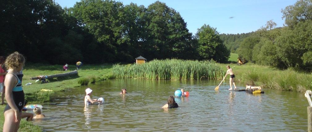 Schwimmen und Wassersport