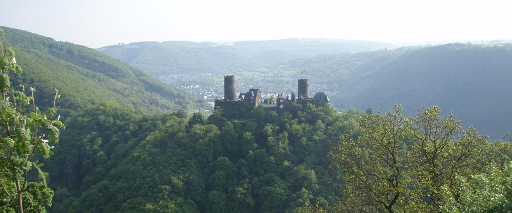 Burg Pyrmont, zwischen Roes und Pillig