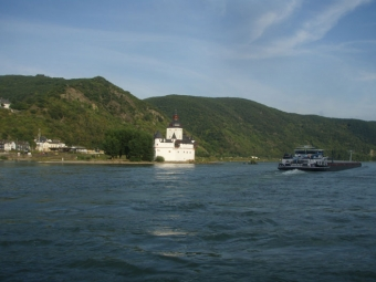 Burgen und Schlösser im Mittelrheintal